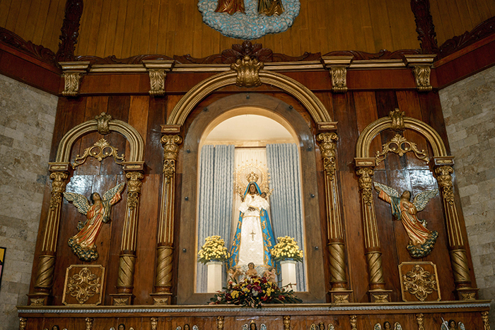 Our Lady of Piat Altar