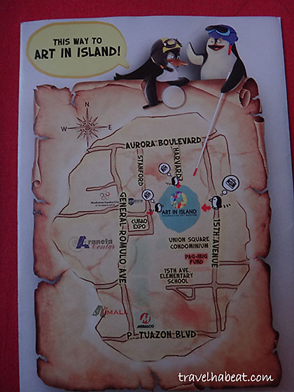 How to go to Art in Island