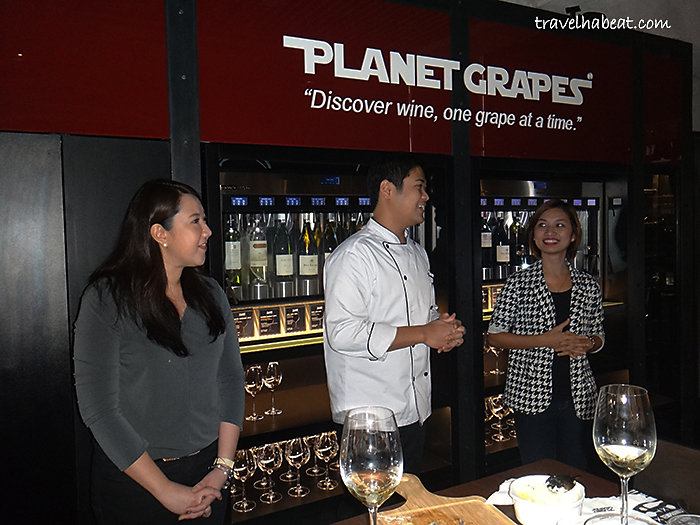 Planet Grapes' Chef and Staff