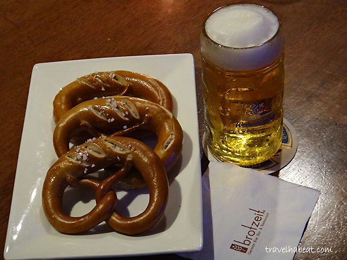 Pretzel and Beer