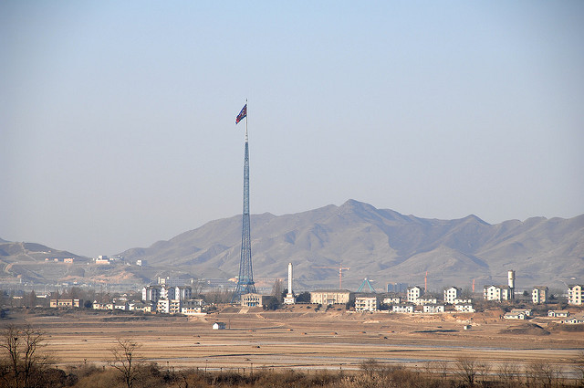 North Korea's fake town, Kijong-dong.