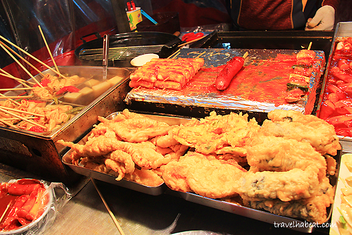 Eomuk or Odeng - fish cakes
