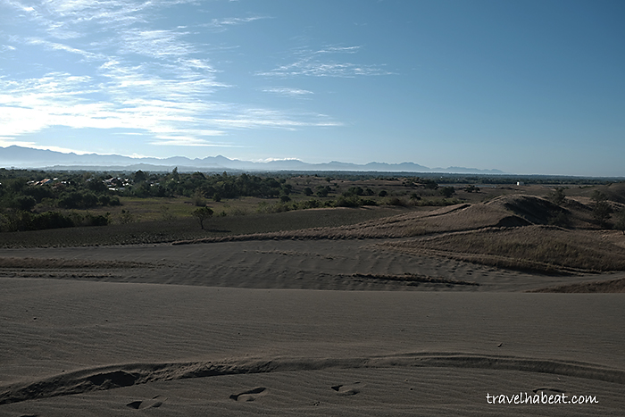 The unique 85-square-kilometer desert environment of La Paz Sand Dunes made it as a National Geological Monument.