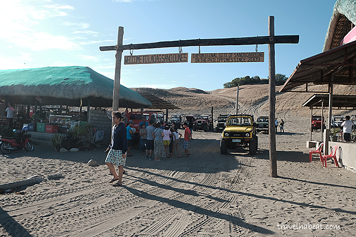 Welcome to Laoag Sand Dunes