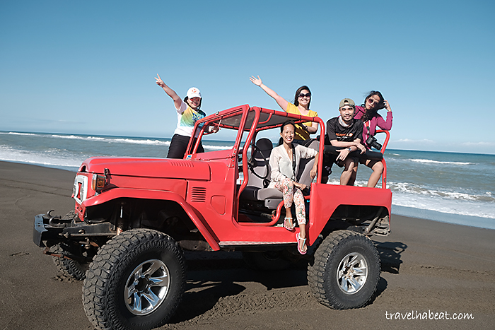 Each 4x4 ride ideally suits five passengers.