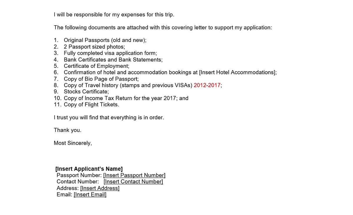 SA Cover Letter p2 - Travel Habeat