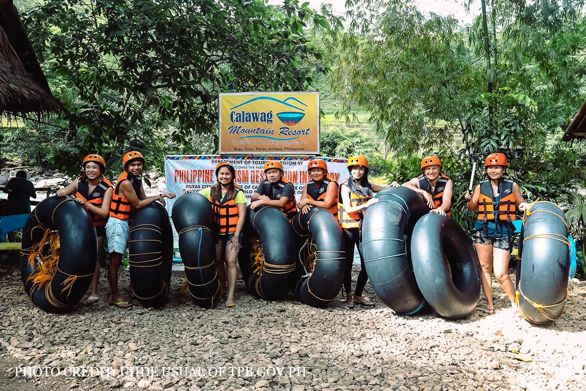 River Tubing at Calawag Mountain Resort in Tibiao, Antique