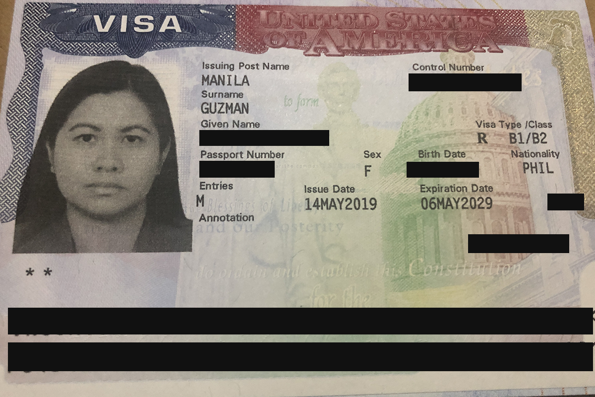 10-year Multiple Entry US Visa