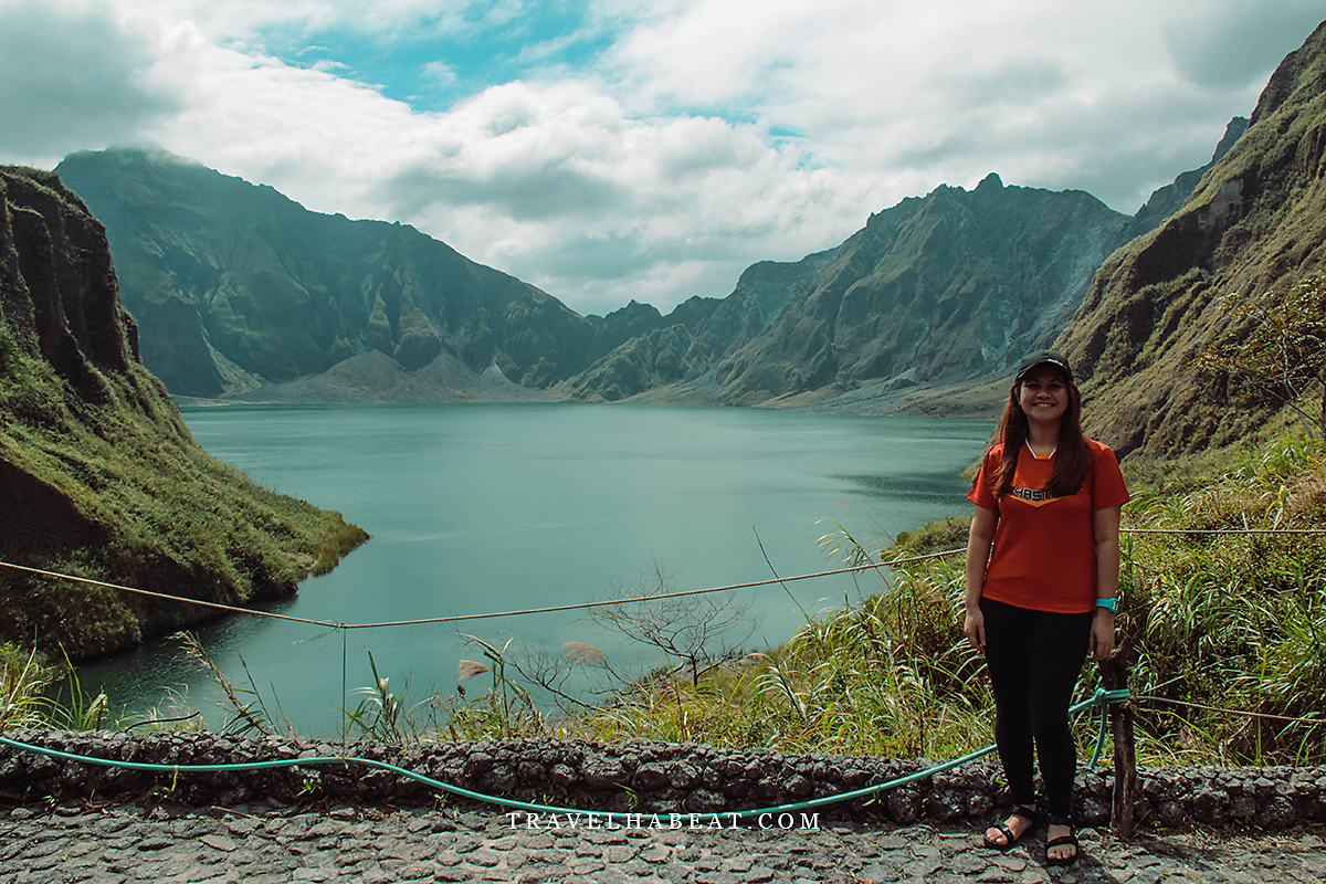 Lake Pinatubo - Mt. Pinatubo Crater Lake
